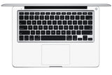 "Macbook 13"" Late 2008 Silver Unibody Skins - Carbon Fiber - iCarbons - 8"