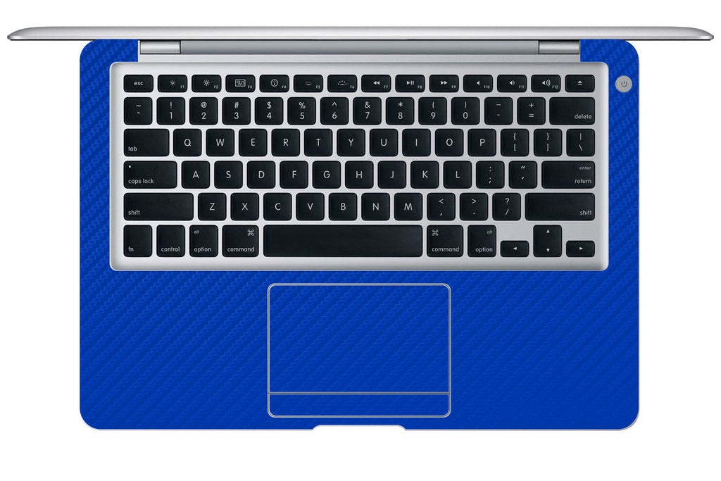 "Macbook Air (1st Gen) 13"" - Blue Carbon Fiber - iCarbons - 1"