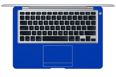 "Macbook Air (1st Gen) 13"" - Blue Carbon Fiber"