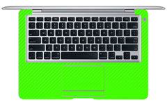 "Macbook Air (1st Gen) 13"" - Green Carbon Fiber"
