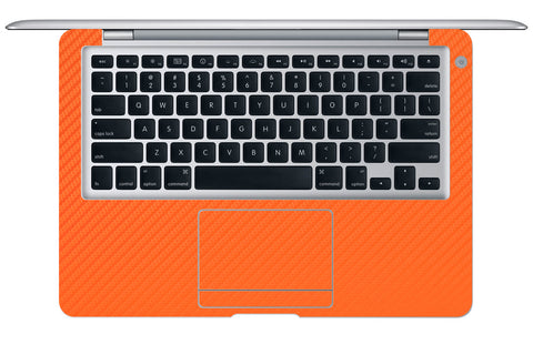 "Macbook Air (1st Gen) 13"" - Orange Carbon Fiber - iCarbons - 1"