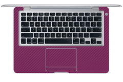 "Macbook Air (1st Gen) 13"" - Purple Carbon Fiber"