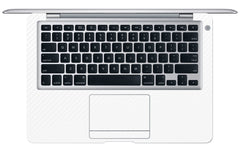 "Macbook Air (1st Gen) 13"" - White Carbon Fiber"