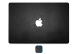 "Macbook 13"" Late 2008 Silver Unibody Skins - Leather - iCarbons - 1"