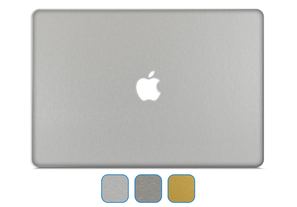 "MacBook Air 13"" Skin (2010 - Current) - Brushed Metal - iCarbons - 1"