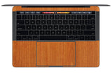 "MacBook Pro 15"" Skin (Late 2016, with Touchbar) - Wood Grain - iCarbons - 8"