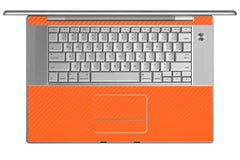 "MacBook Pro 15"" (1st Gen) - Orange Carbon Fiber"