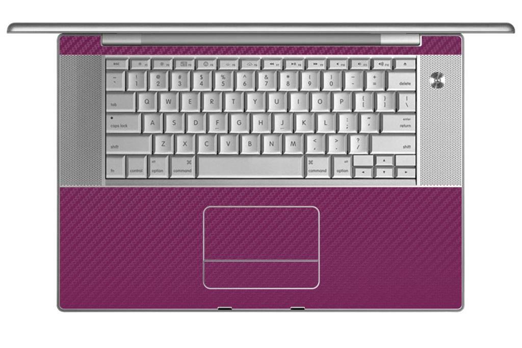 "MacBook Pro 15"" (1st Gen) - Purple Carbon Fiber - iCarbons - 1"
