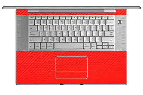 "MacBook Pro 15"" (1st Gen) - Red Carbon Fiber - iCarbons - 1"