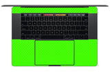 "MacBook Pro 15"" Skin (Late 2016, with Touchbar) - Carbon Fiber - iCarbons - 20"