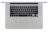 "MacBook Pro 15"" Skin (Late 2008 - Mid 2012) - Brushed Metal - iCarbons - 3"