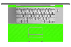 "MacBook Pro 17"" (1st Gen) - Green Carbon Fiber"