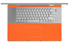 "MacBook Pro 17"" (1st Gen) - Orange Carbon Fiber"