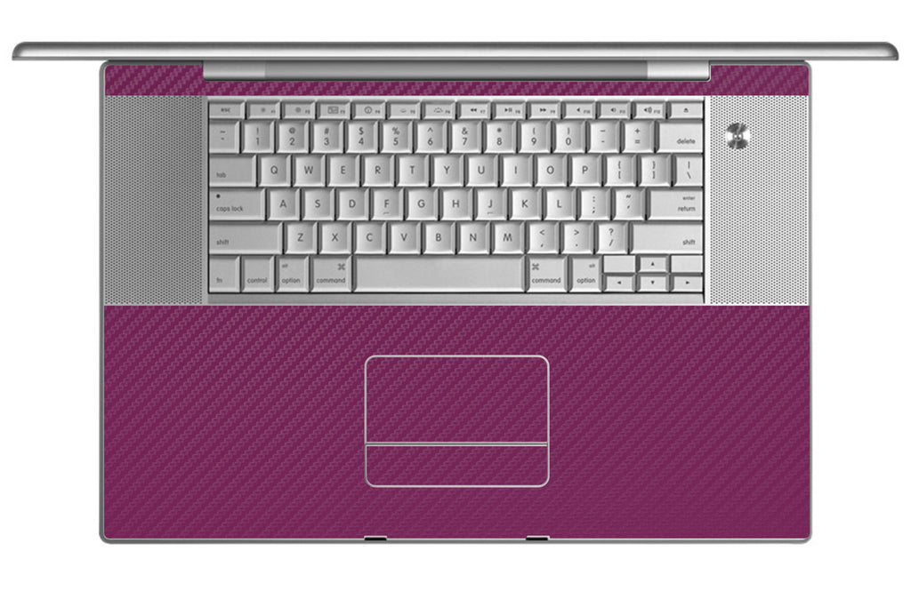 "MacBook Pro 17"" (1st Gen) - Purple Carbon Fiber - iCarbons - 1"