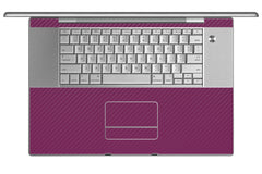 "MacBook Pro 17"" (1st Gen) - Purple Carbon Fiber"