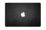 "Macbook 13"" Late 2008 Silver Unibody Skins - Leather - iCarbons - 4"
