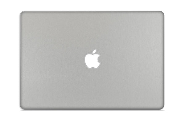 "Macbook Pro 17"" (Silver Unibody 2009-2012) - Brushed Metal - iCarbons - 2"