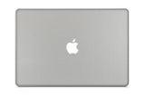"Macbook 13"" Late 2008 Silver Unibody Skins - Brushed Metal - iCarbons - 2"