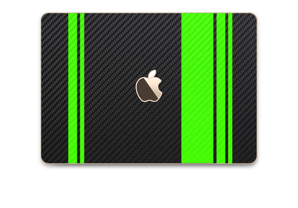 MacBook Rally Skin - Stripes Only - iCarbons - 15