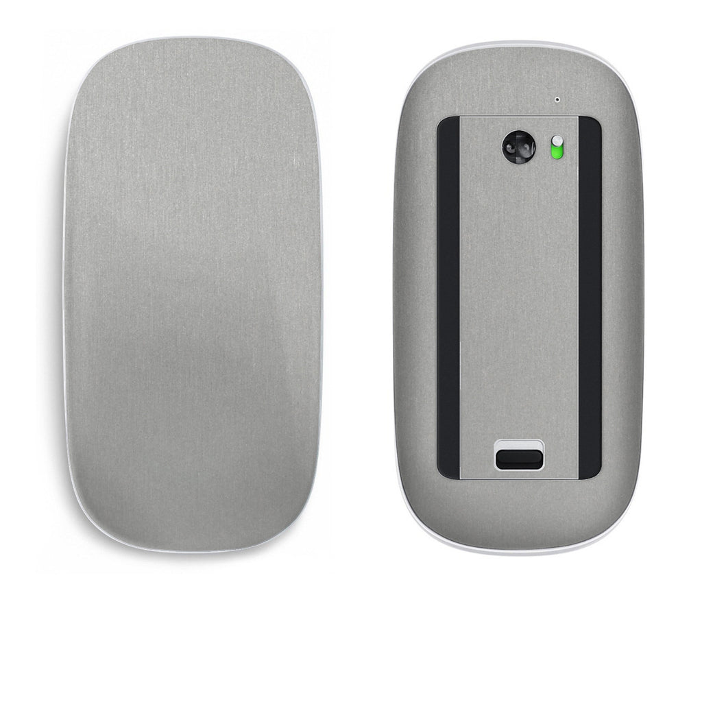 Apple Magic Mouse Skins - Brushed Metal - iCarbons - 1