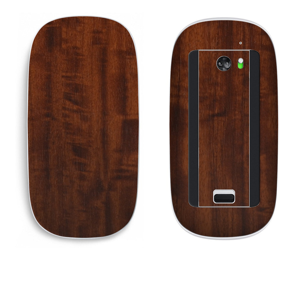 Apple Magic Mouse Skins - Wood Grain - iCarbons - 1