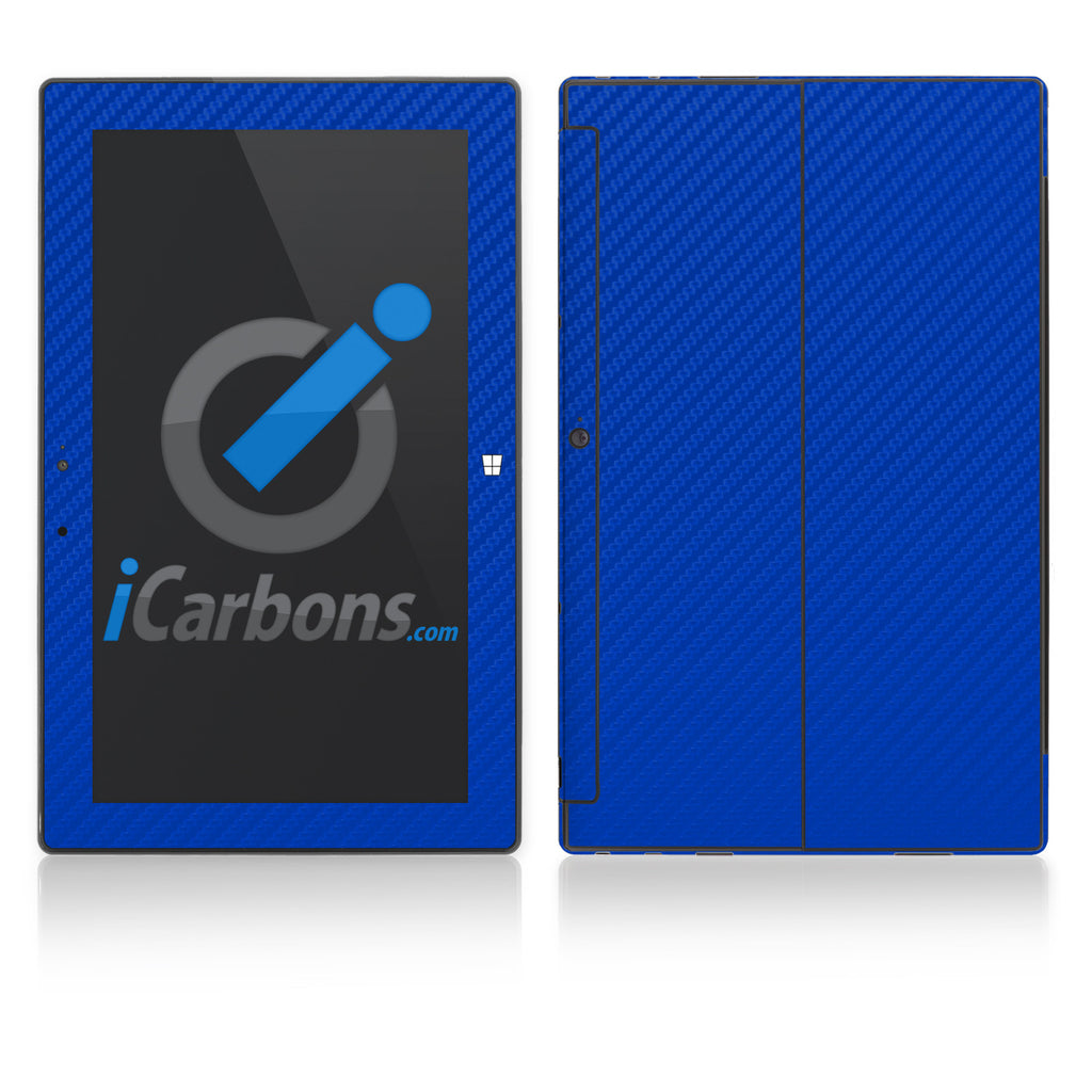 Microsoft Surface RT - Blue Carbon Fiber - iCarbons - 1