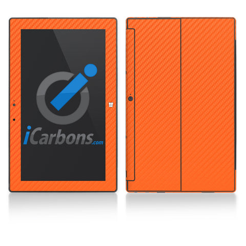 Microsoft Surface RT - Orange Carbon Fiber - iCarbons - 1