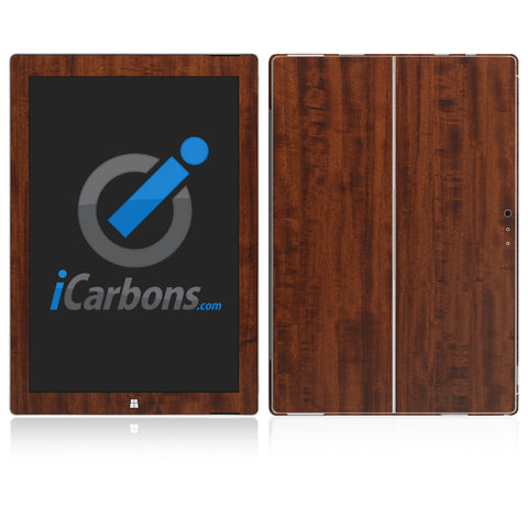 Microsoft Surface Pro 3 Skins - Wood Grain - iCarbons - 1