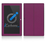 Microsoft Surface RT - Purple Carbon Fiber - iCarbons - 1