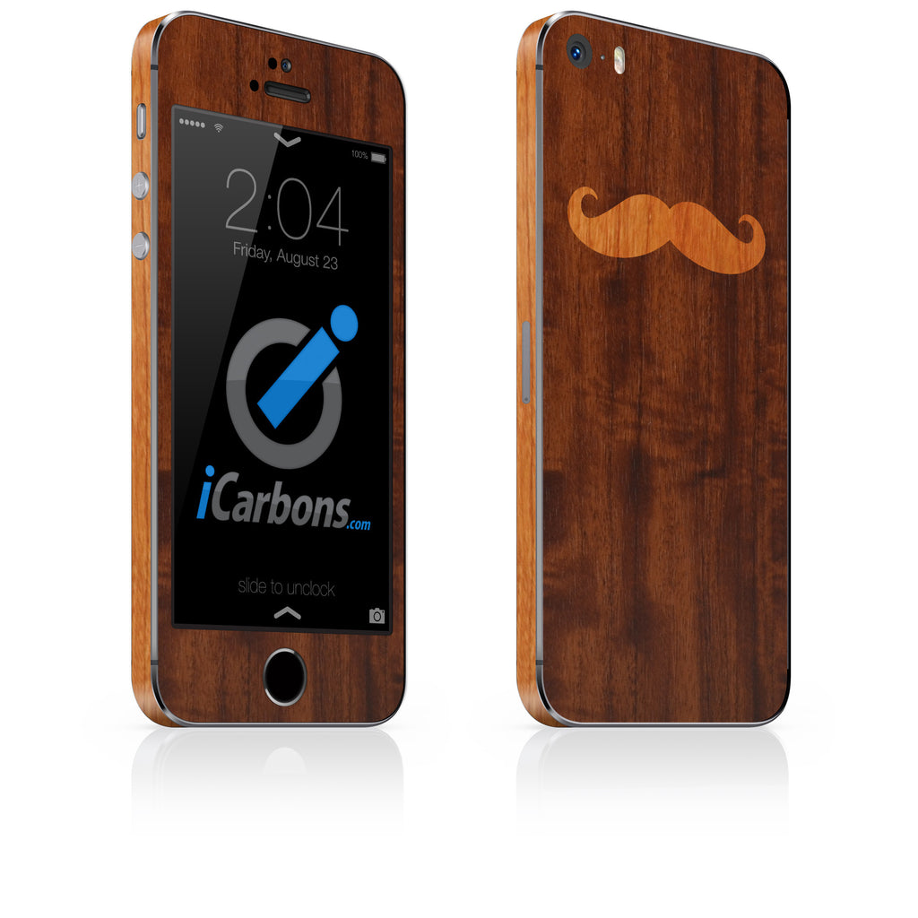 Mustache iPhone Skin - iCarbons - 1