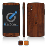 Nexus 5 Skins - Wood Grain - iCarbons - 1