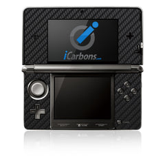 Nintendo 3DS - Black Carbon Fiber