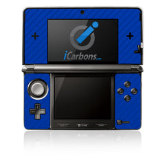 Nintendo 3DS - Blue Carbon Fiber