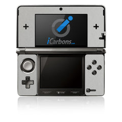 Nintendo 3DS - Brushed Aluminum
