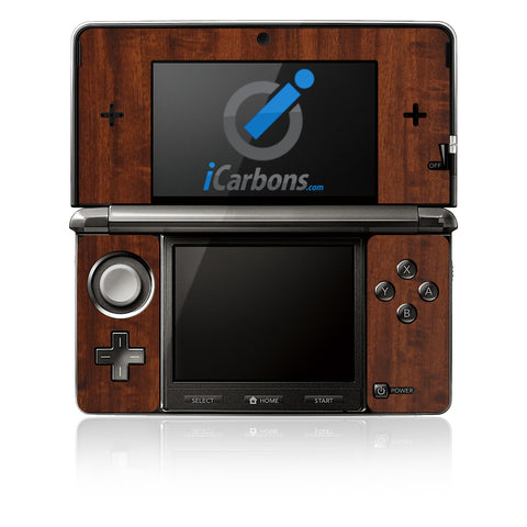 Nintendo 3DS - Dark Wood - iCarbons - 1