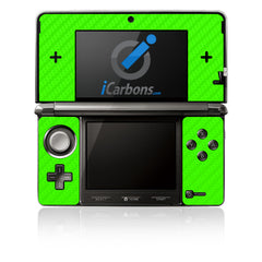 Nintendo 3DS - Green Carbon Fiber