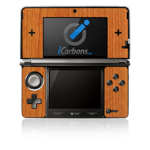 Nintendo 3DS - Light Wood - iCarbons - 1