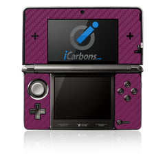 Nintendo 3DS - Purple Carbon Fiber