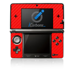 Nintendo 3DS - Red Carbon Fiber