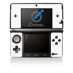 Nintendo 3DS - White Carbon Fiber