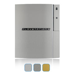 Playstation 3 Skin (Original) Skins - Brushed Metal