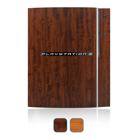 Playstation 3 Skin (Original) Skins - Wood Grain - iCarbons - 1