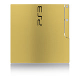 Playstation 3 Slim Skins - Brushed Metal - iCarbons - 3