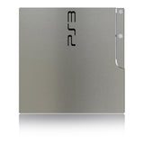 Playstation 3 Slim Skins - Brushed Metal - iCarbons - 4