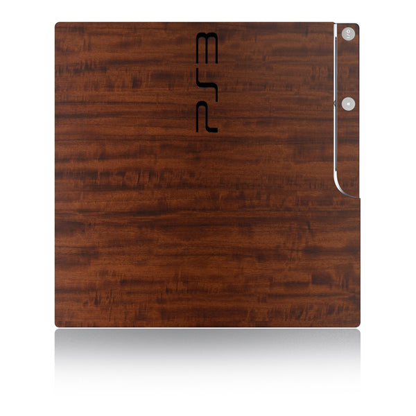 Playstation 3 Slim Skins - Wood Grain - iCarbons - 2