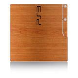 Playstation 3 Slim Skins - Wood Grain - iCarbons - 3