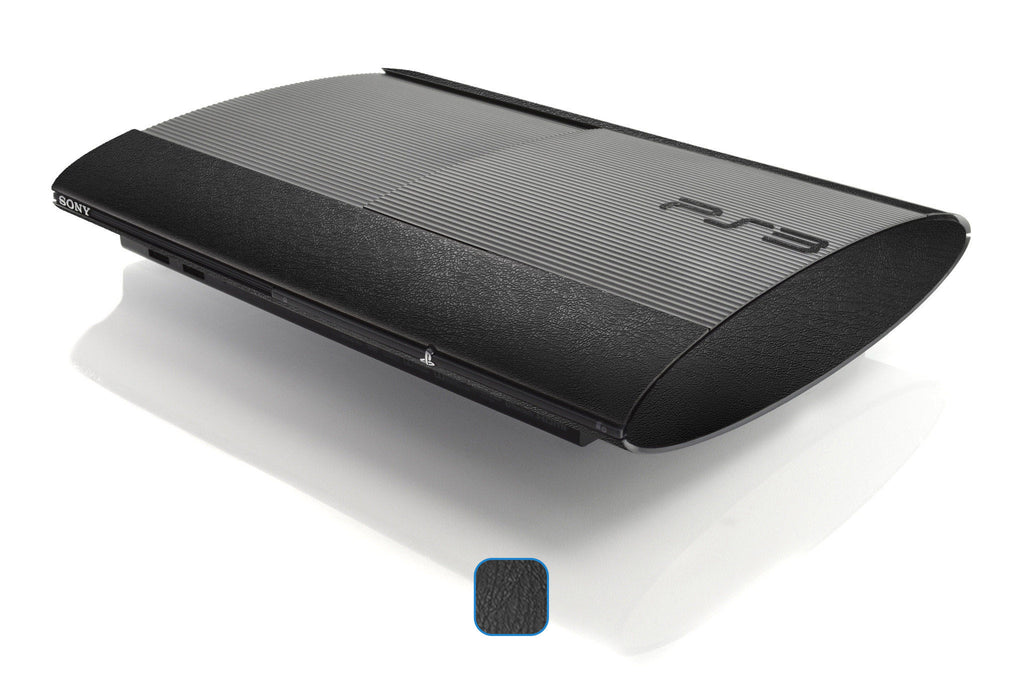 PS3 Super Slim Skins - Leather - iCarbons - 1