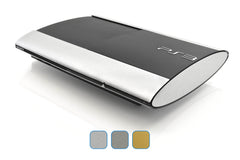 PS3 Super Slim Skins - Brushed Metal