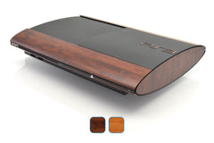 PS3 Super Slim Skins - Wood Grain