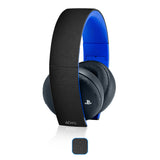 Playstation Gold Wireless Headset Skins - Leather - iCarbons - 1